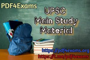 UPSC Mains 2003-2019 Chapter Wise Solved Paper PDF