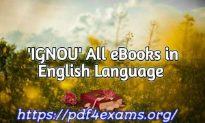 IGNOU M.A. Political Science Material In English PDF