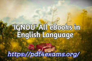 IGNOU M.A. History Material In English PDF