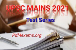 GS Score Mains 2021 Test 13 PDF with Solution PDF