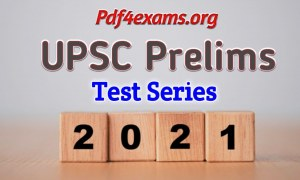GS SCORE Prelims 2021 All India Open Mock Test 07 PDF