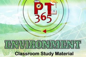 Vision IAS Environment PT 365 Current Affairs Material For Prelims 2021 PDF